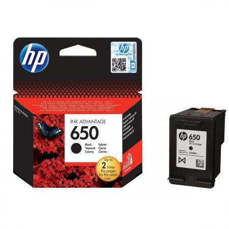 clicstore- Cartouche d'encre - HP 650 Noir - Advantage authentique